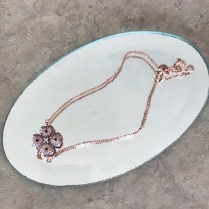 HOT TREND Rose Gold Clover Adjustable Bracelet